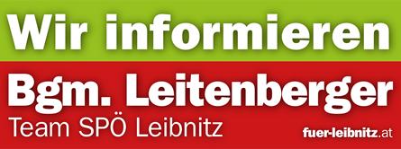 TEAM BÜRGERMEISTER Leitenberger