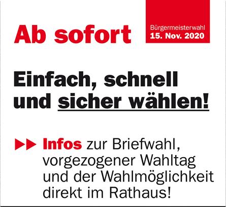 TEAM BÜRGERMEISTER Leitenberger - Einfach, schnell und sicher wählen!