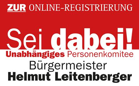 TEAM BÜRGERMEISTER Leitenberger - Unterstützungserklärung für das Personenkomitee